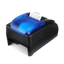HOIN HOP - H58 USB Thermal Printer Receipt Machine Support USB Connection Pos Receipt Printer 58mm 70mm/s EU Plug(China)