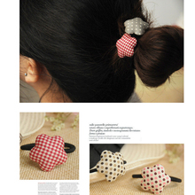 3/pcs Korea Fashion Scotland Style Cute Star Hair Band Hair Rope Hair Accessories High Quality Rubber Band For Girls Women