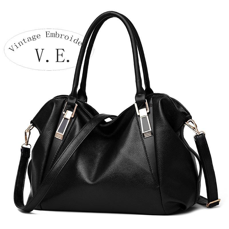 Vintage Embroidery Women Shoulder  Messenger Bag Handbag Leather Designer Crossbody Bags For Women Famous Brands Bolsas Feminina<br>