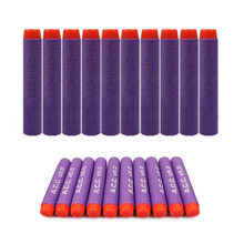 Wholesale New Type 7.2cm Purple Toy Gun Refill Darts For ACC Team Printed Toy Gun Bullets Xmas Kids Hot Gifts 500PCs