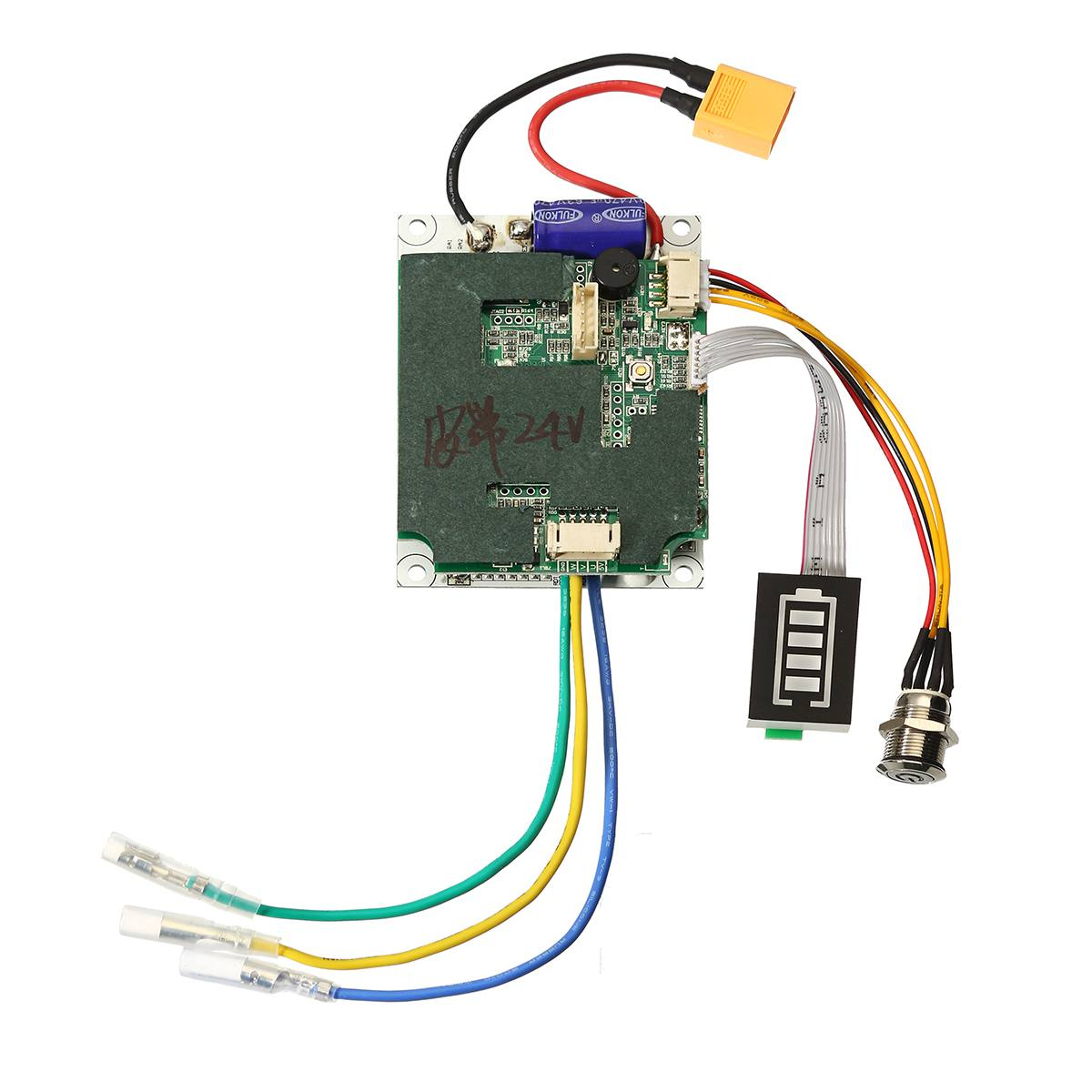 24/36V Single Belt Motor Electric Skateboard Controller Longboard ESC Substitute Parts Scooter Mainboard Instrument Tools 37