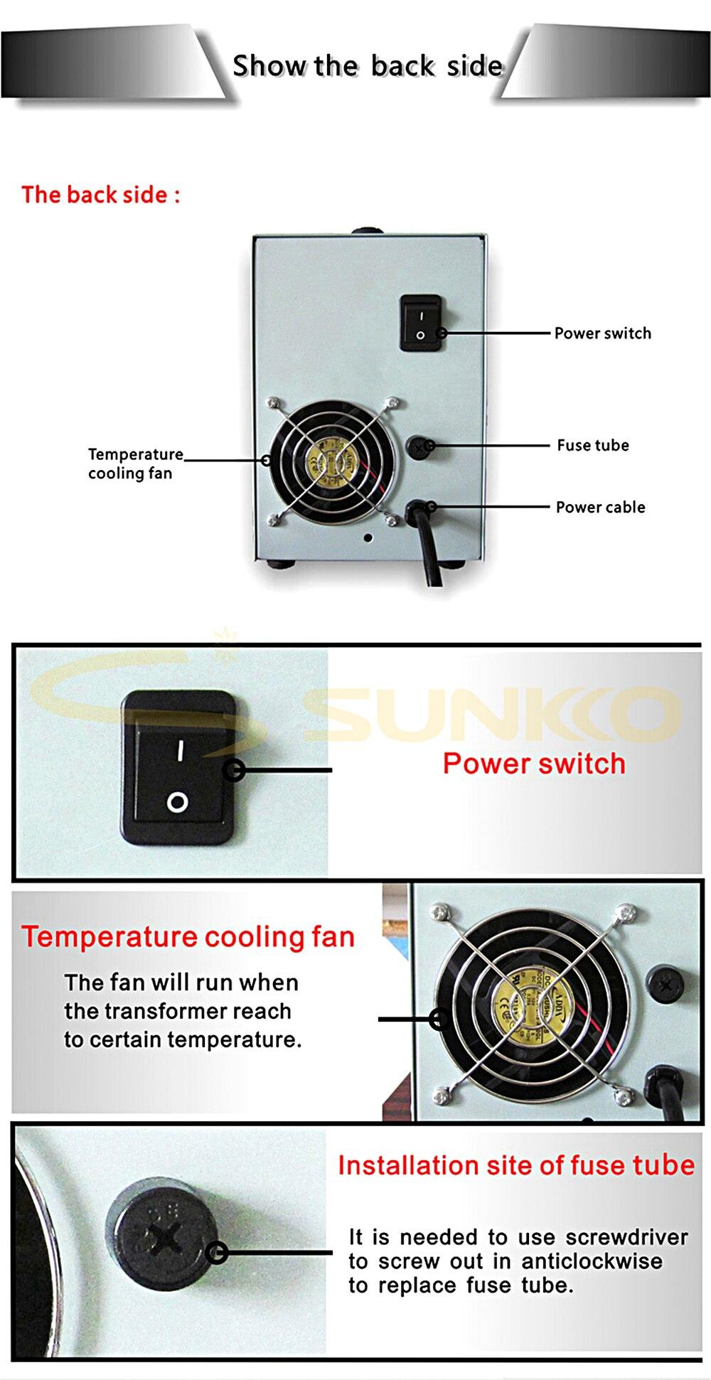 709AD+ spot welder machine 10