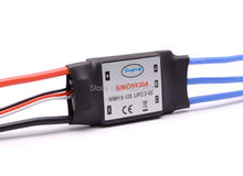 2PCS 30A SimonK Prgramme RC Brushless ESC With BEC 2A For Axis Quadcopter Multicopter(China)