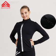 Syprem 2017 New Arrival Yoga Shirt women sportswear fitness yoga clothing gym clothing for women athletic slim sports apparel