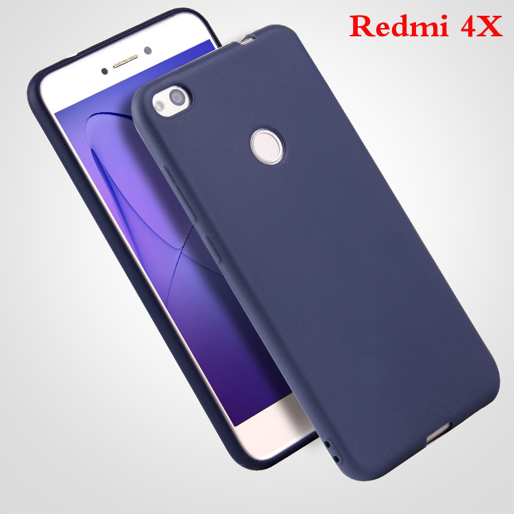 TPU Solid Back Cover Silicon Cases For Xiaomi Redmi Models