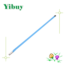 Yibuy 440mm Length 9mm Dia Black Steel Two Way Adjustment Guitar Truss Rod