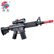 Free Shipping ZUANLONG Brand M16 Powerful Soft Bullet AirGun Toy Rifle Water Paintball Gun Umbrella Black Long Simulation Gun