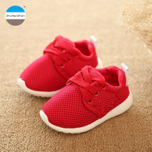 2018 Autumn 1 to 3 years old children casual shoes baby boys and girls sports shoes soft bottom running shoes kids sneakers(China)