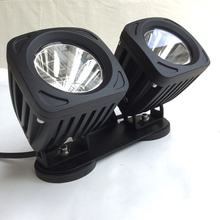 Portable Magnetic Car Led work light twin Spot lamp Offroad truck head light 4x4 fog lamp ATV SUV driving spotlight working lamp