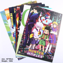 HUNTER X HUNTER Toys Posters Included 8 Different Pictures 8pcs/Lot Video Games Poster Sizes 42x29 CM(China)
