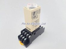 H3Y-4 AC220V 5A 60Sec 60S Omron Timer Relay 4PDT 14 PIN(China)
