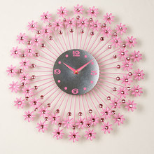 Creative sitting room adornment personality watch European mute supe bedroom fashion modern art wall clock T-MM1294S