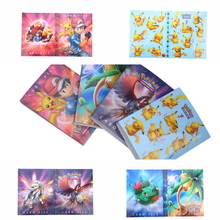 New Pikachu Collection Albums Pokemon cards Album Book List playing cards toys Novelty gift Photo Album(China)