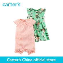 Carter's 2pcs baby children kids 2-Piece Dress & Romper Set 121H239,sold by Carter's China official store(China)