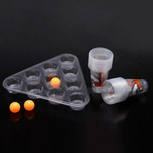 Ultimate Bombed Beer Pong Party Fun Kit 22 Cups 3 Balls For Adult Table Games Top Board Drinking Game Pub Bar BBQ Gift