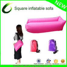 New Coming Inflatable Sleeping Bag/ Sofa/ Bed Air Bag, Colorful Outdoor travel Sleeping hangout bag portable couch