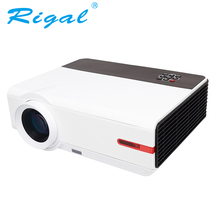 Rigal RD808A LED HD Projector Smart WIFI Android 3200Lumen 3D Beamer Home Cinema Theatre Proyector LCD Wireless HDMI VGA USB TV