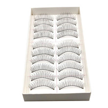 New 10 Pairs Long Thick Soft Handmade Fake  Eyelashes Eye Lash Makeup Extensions wholesale price