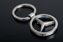 New creative personality car key ring zinc alloy car this key chain pendant key ring wholesale