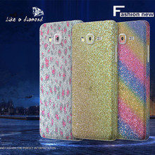 Bling Glitter Shiny Crystal Diamond Full Body Front and Back Wrap Decal Film Sticker Skin For Samsung Galaxy Grand Prime G530
