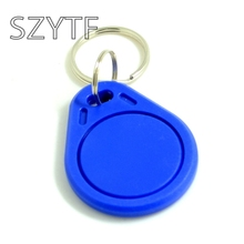 Free Shipping 13.56 MHZ IC Proximity IC Card Keyfobs, Access Control Card Rfid Tag