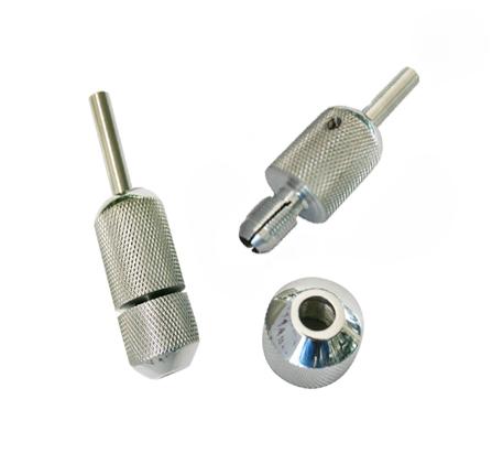 High Quality 22mm Tattoo Grips Free Shipping 1 PCS/Lot Knurled Twist Self-Lock Tattoo Grip Professional Stainless Steel