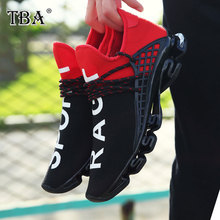 TBA Brand Sneakers for Men and Women Black White Breathable Heighten Athletic Air casual Sports shoes-87(China)