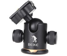 beike BK-03 Aluminum Alloy Tripod ballhead / Ball Head With Quick Release Plate &Two levels Maximum Load 8KG For Benro Manfrotto