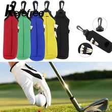 Relefree Neoprene Sports Golf Ball Bag Holder Golfing Small Carrying Storage Waist Pouch training Aid Tool(China)