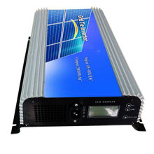 MAYLAR@ 45-90V DC to AC 220Vac 2000W Pure Sine Wave Grid Tie Power inverter with LCD display