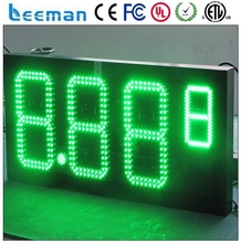 leeman led gas station light outdoor displays gas stations signs/gas station led price sign/digital gas price sign