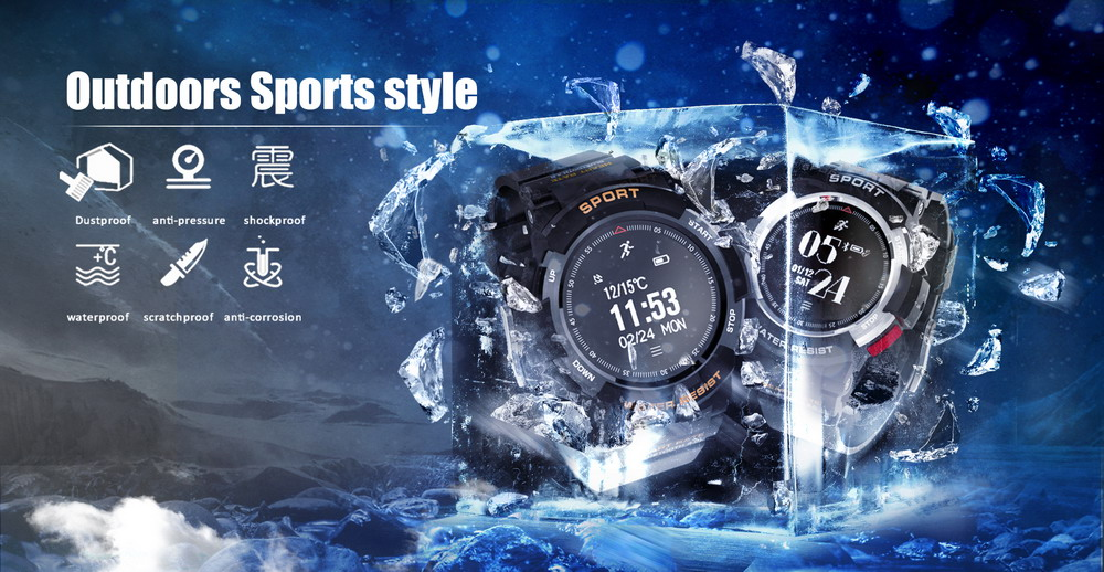 DTNO.1 Smart Watches F6 50m Waterproof Smartwatches Sports Nordic NRF51822 Smart Watch Sleep Monitor Remote Camera IOS Android (13)