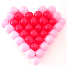 Brand new Heart-shaped Balloon Grid Balloon Tool Accessories Love Making Net