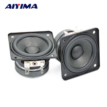 AIYIMA 2Pcs Spakers 2Inch Full Range Speaker 4Ohm 10W Bass Column Computer Multimedia Speakers