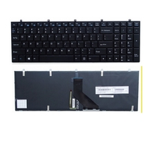 New  Keyboard FOR Clevo CLEOVO W370ET W350ET W350 W370 W655 W670 US  Replace laptop keyboard Backlight
