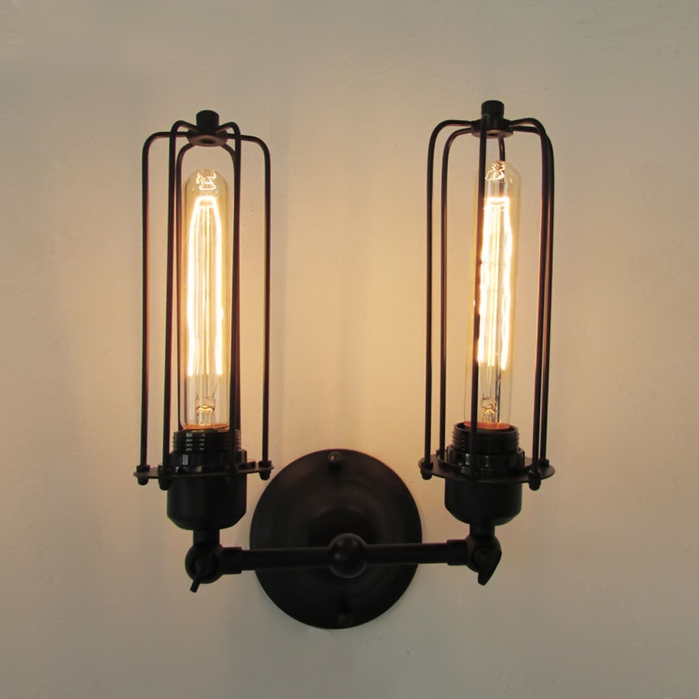Nordic American Retro Vintage Style Loft Industrial Edison Hotel Cafe Bar Restaurant Wall Lamps Home Decoration Lighting<br>
