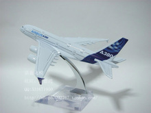 16cm Airplane Plane Model Airbus A380 Airline Aircraft Model Diecasts  Vehicles Collection Decoration