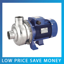 BB250/075D 0.75KW/1HP Stainless Steel Centrifugal Water Pump 380V/220V Close Impeller Swinging Pool Pumping Pump