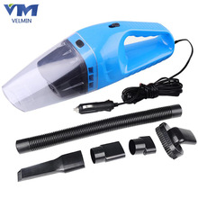 Car Accessories Super Suction Portable Car Vacuum Cleaner Wet And Dry Dual Use With Power 120W 12V 5 Meters Cable