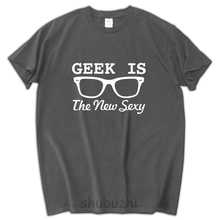 2017 new arrived Geek Is The New Sexy men tshirt fashion cotton 100% mens tees and tops funny cool brand male tshirt(China)