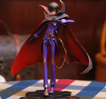 26CM Japanese Anime Code Geass R2 Lelouch Lamperouge Zero PVC Action Figure Model Collectable Kids Toys