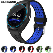 Buy Beseneur Bluetooth Smart Watch V9 Camera Smartwatch Pedometer Health Sport Clock Hours Men Women Smartwatch Android IOS for $19.99 in AliExpress store