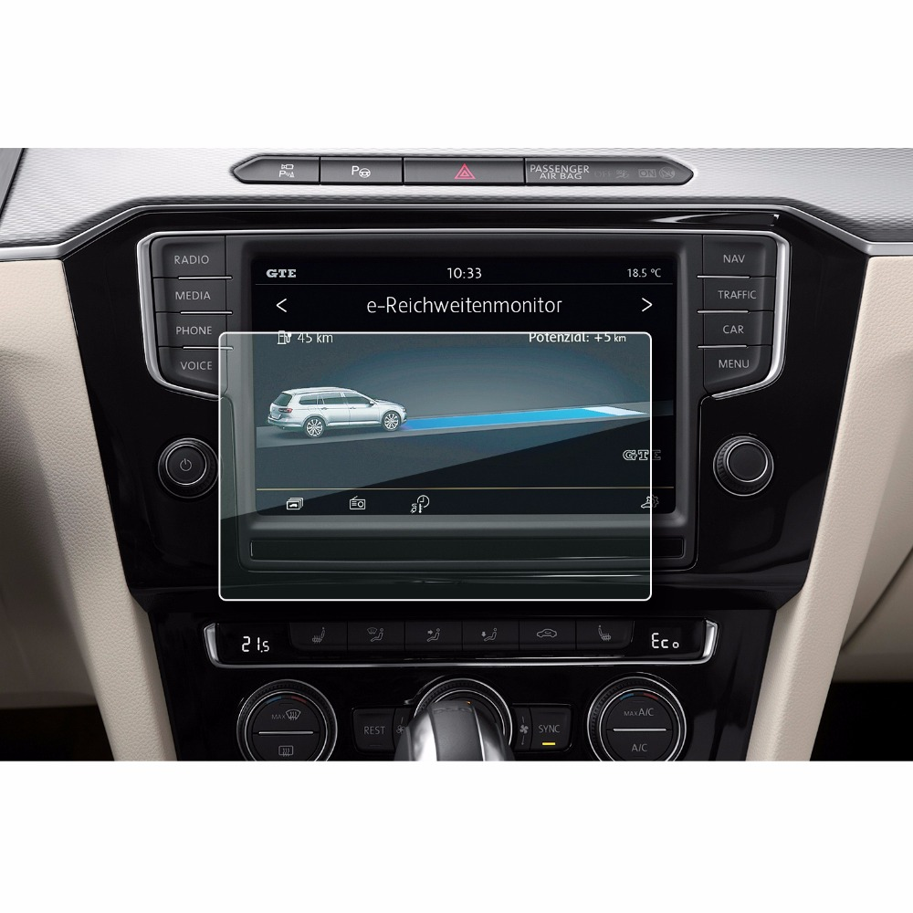 2x BROTECT Matte Screen Protector Volkswagen Composition Media Polo 2018
