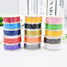 Cute DIY Lace Decoration Sticker Plastic Sweet Fabric Tape for photo album Scrapbooking Wholesale Free shipping 104(China)