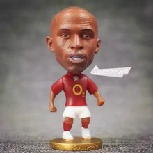 Soccerwe 2016 Classic Series Football Figure 6.5 cm Height Resin ARS 14 Thierry Henry Doll Red Kit(China)