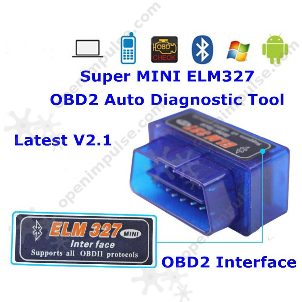 Mini OBD2 Bluetooth Interface-2