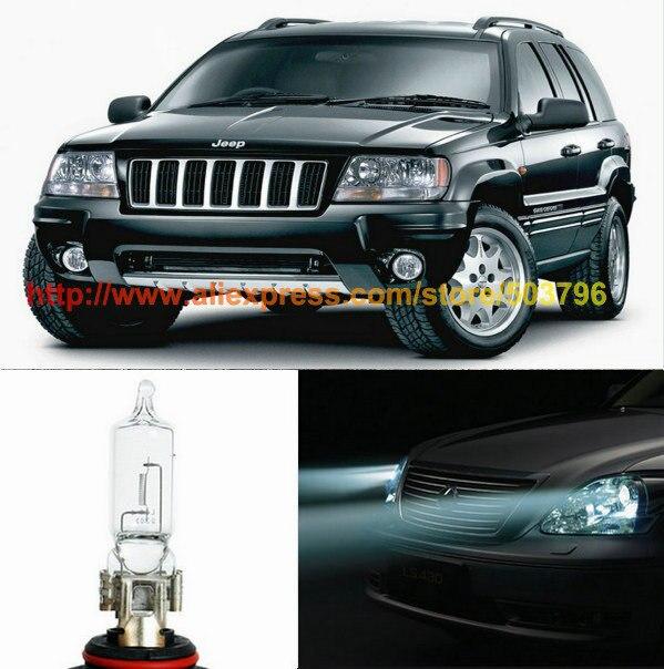 Free Shipping 2Pcs/Lot Superbright Hight Power Halogen 60w 12v Car Halogen Low Beam Headlight For Jeep Grand Cherokee 1999-2003<br><br>Aliexpress