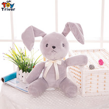 30cm Kawaii Plush Grey Rabbit Toy Doll Stuffed Animal Baby Girl Boy Kids Birthday Gift Present Shop Home Deco Triver
