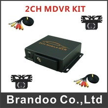 2Ch Mini Vehicle Car Video Recorder Car/Bus Mobile Car Video DVR