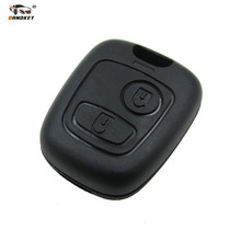 DANDKEY Remote Key Car Key Blade Fob Case Replacement Shell Cover For Citroen C1 C4 for Peugeot 107 207 307 407 206 306 406